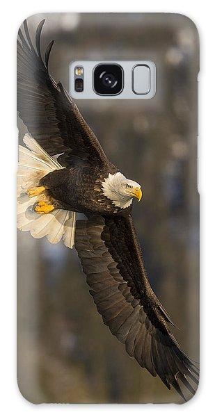 Banking Bald Eagle Galaxy Case