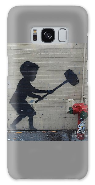 Banksy In New York Galaxy Case