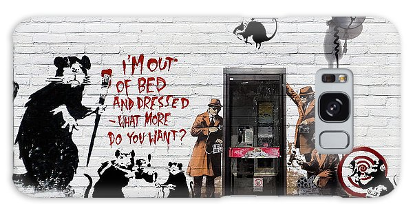 Banksy - The Tribute - Rats Galaxy Case