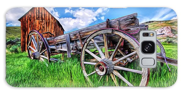 Bannack Wagon Galaxy Case