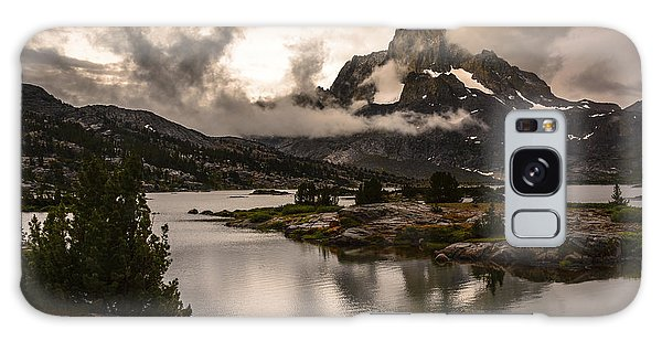 Banner Peak In A Clearing Storm Galaxy Case by Joe Doherty