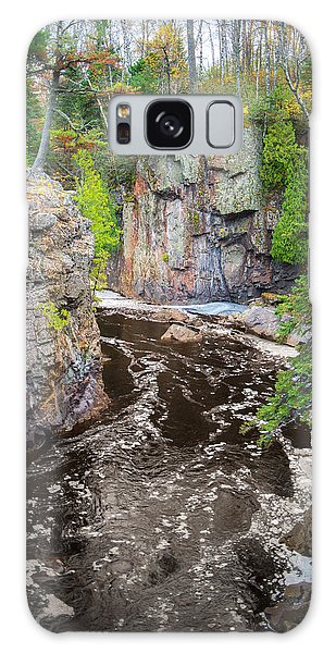 Baptism River In Tettegouche State Park Mn Galaxy Case