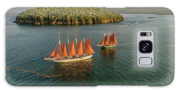 Sailing Thru Life The Downeast Way Galaxy Case