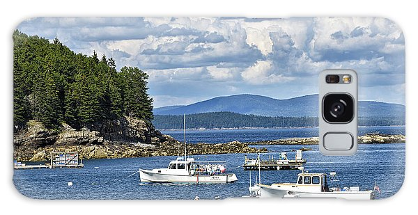 Bar Harbor Lobster Boats - Frenchman Bay Galaxy Case