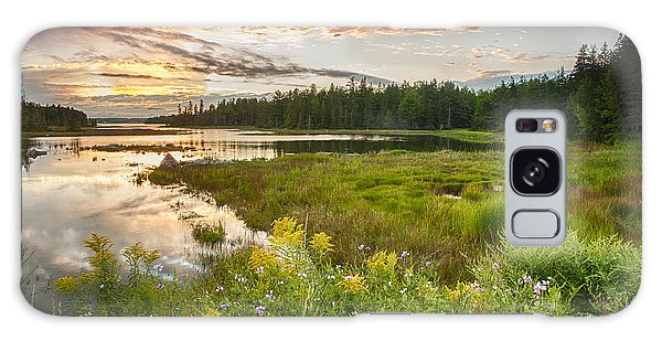 Bar Harbor Maine Sunset One Galaxy Case