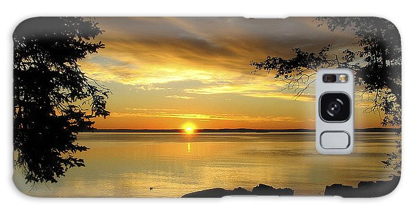 Bar Harbor Sunrise 1 Galaxy Case