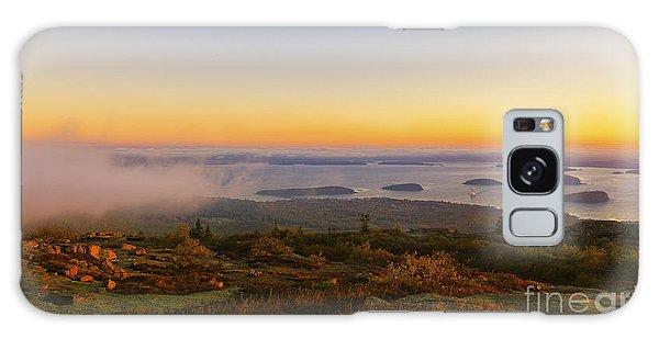 Bar Harbor Sunrise. Galaxy Case