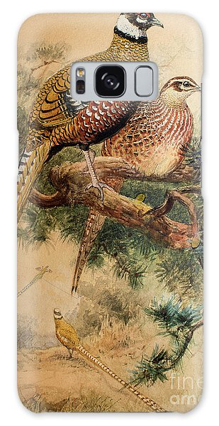 Bar-tailed Pheasant Galaxy S8 Case