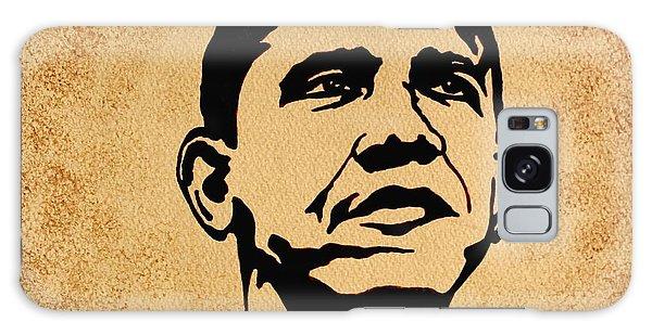 Barack Obama Original Coffee Painting Galaxy Case