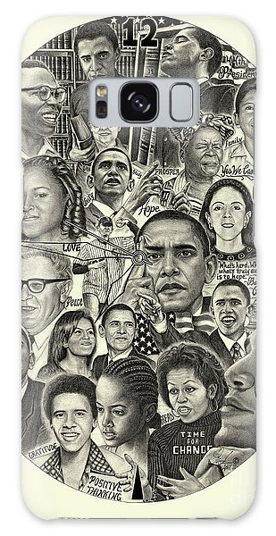 Barack Obama- Time For Change Galaxy Case