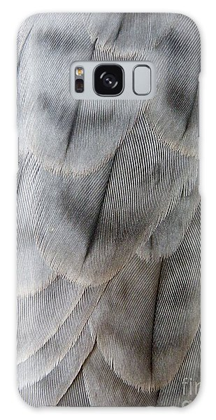 Barbary Falcon Feathers Galaxy Case