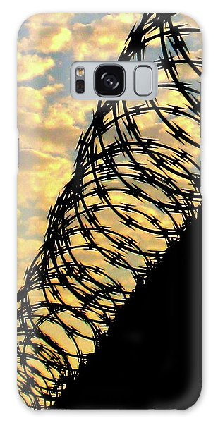 Barbed Sunset Galaxy Case