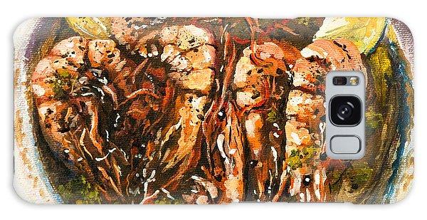 Barbequed Shrimp Galaxy Case