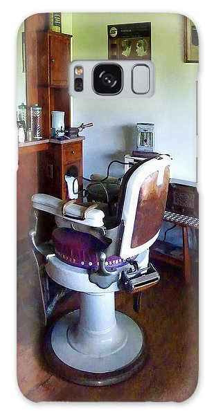 Barber - Old-fashioned Barber Chair Galaxy Case