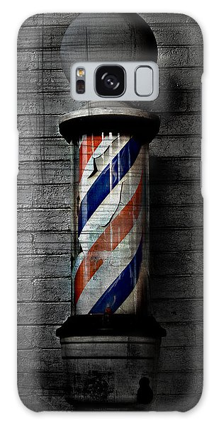 Barber Pole Blues  Galaxy Case by Jerry Cordeiro