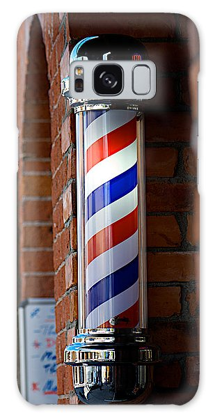 Barber Pole Galaxy Case