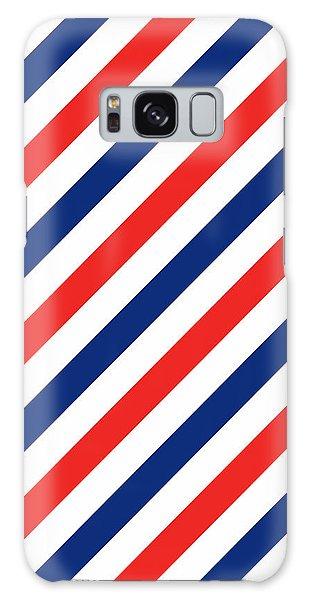 America Galaxy Case - Barber Stripes by Julia Jasiczak