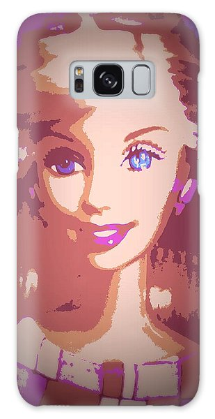 Barbie Hip To Be Square Galaxy Case by Karen J Shine
