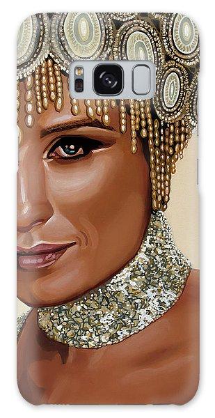 Barbra Streisand 2 Galaxy Case by Paul Meijering