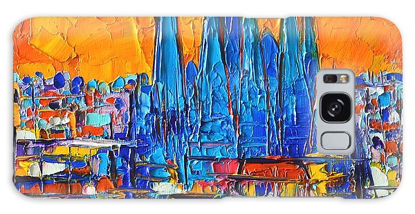 Barcelona Abstract Cityscape 7 - Sagrada Familia Galaxy Case