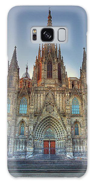 Barcelona Cathedral Galaxy Case