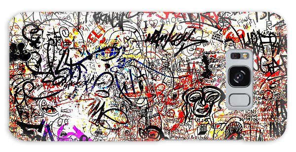 Barcelona Graffiti Heaven Galaxy Case by Funkpix Photo Hunter