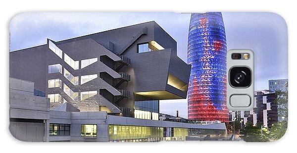 Barcelona Modern Architecture Galaxy Case by Marek Stepan