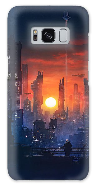 Barcelona Smoke And Neons The End Galaxy Case