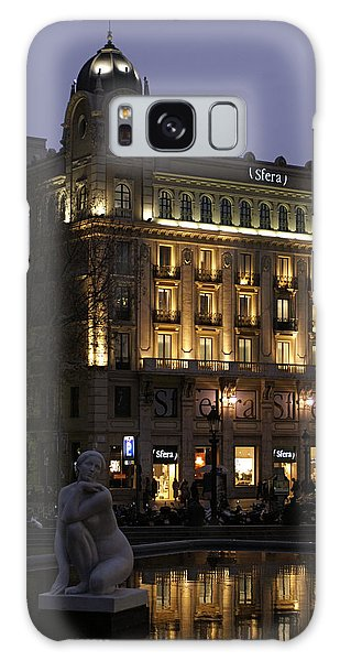 Barcelona Spain Galaxy Case by Henri Irizarri