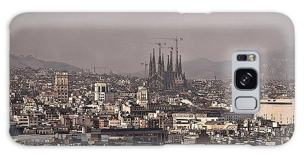 Barcelona Galaxy Case by Steven Sparks