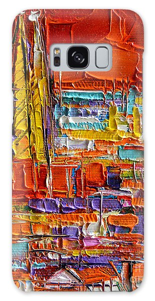 Barcelona View From Parc Guell - Abstract Miniature Galaxy Case