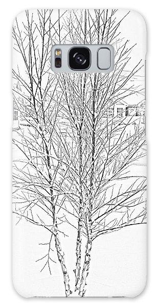 Bare Naked Tree Galaxy Case