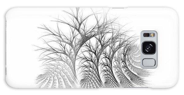 Bare Trees Daylight Galaxy Case