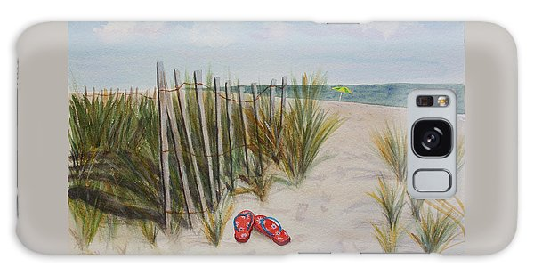 Barefoot On The Beach Galaxy Case