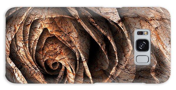 Barking Rose Galaxy Case by Nicolas Raymond