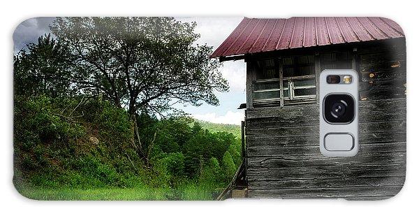 Barn After Rain Galaxy Case