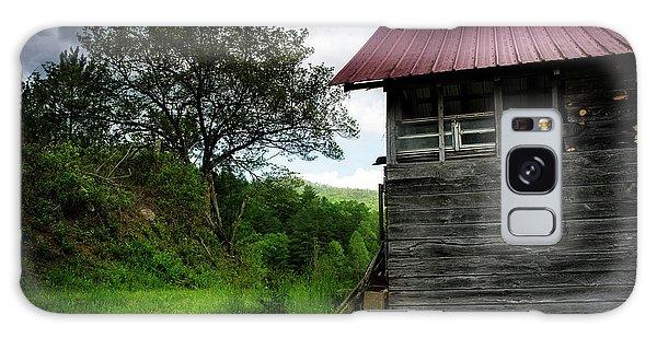 Barn After Rain Galaxy Case by Greg Mimbs