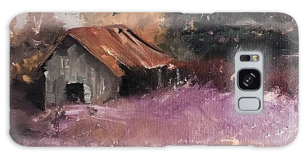 Barn And Birds  Galaxy Case