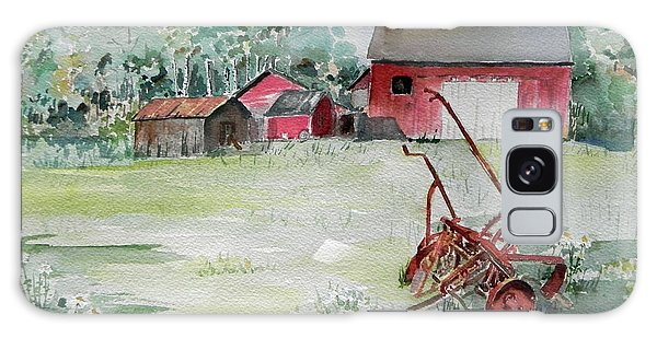 Barn And Cultivator Galaxy Case