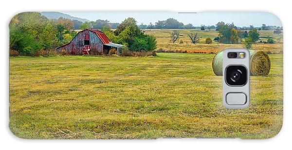 Barn And Field Galaxy Case