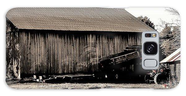 Barn And Truck Galaxy Case