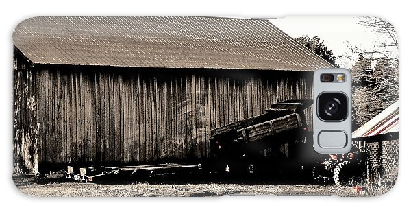 Barn And Truck Galaxy Case