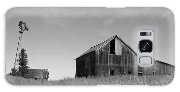 Barn And Windmill II Galaxy Case