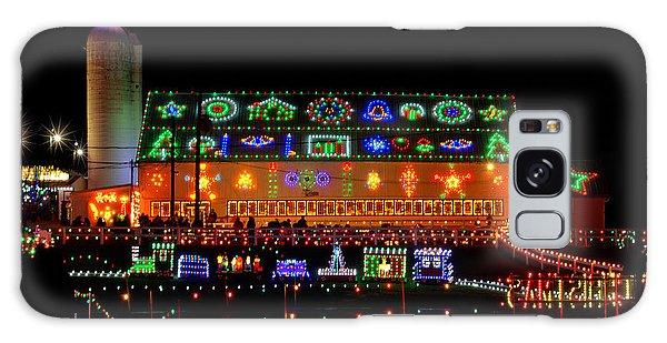 Barn At Koziars Christmas Village Galaxy Case