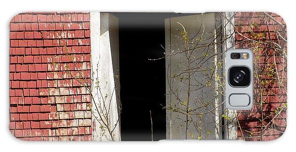Houlton Galaxy Case - Barn Door And Cedar by William Tasker