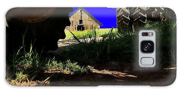 Barn From Under The Equipment Galaxy Case