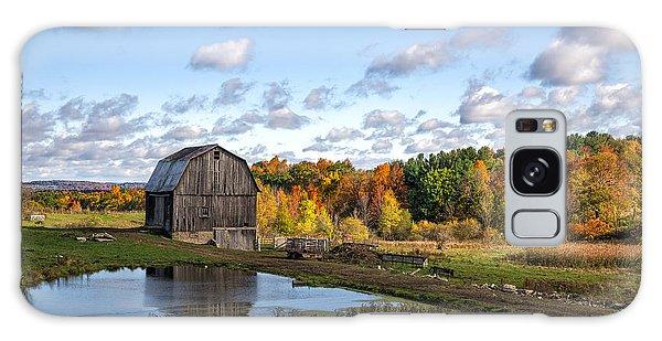 Barn In Autumn Galaxy Case