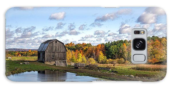Barn In Autumn Galaxy Case