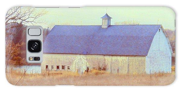Barn In Blue Galaxy Case