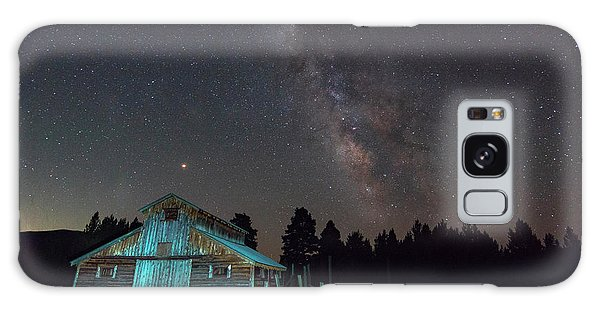 Barn In Rocky Galaxy Case